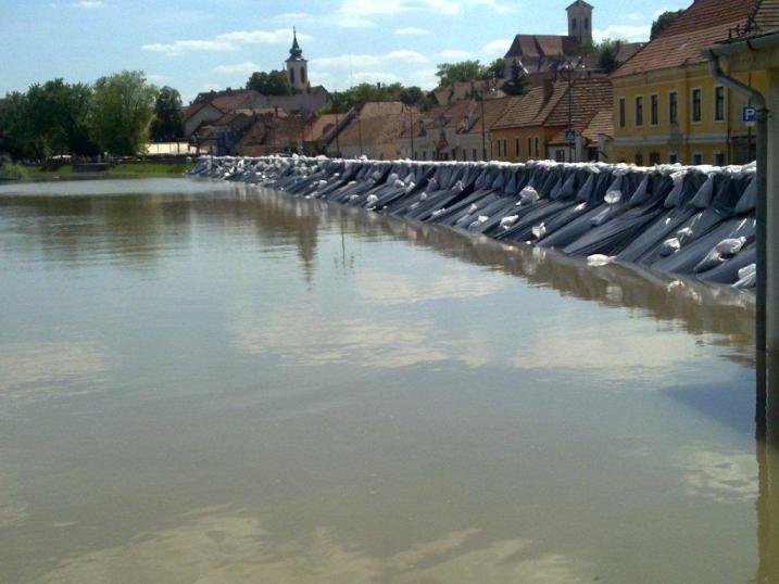 Szentendre árvíz idején