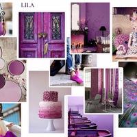 Színek a lakberendezésben: a LILA