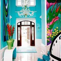 MilyenutcaHányszám: egy merész színösszeállítású otthon