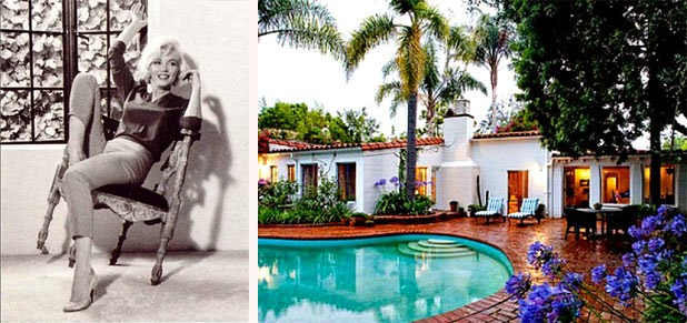 Celebketrec: Marilyn Monroe egykori házában