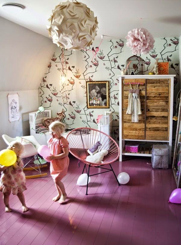 Gyereksarok: romantika a gyerekszobában