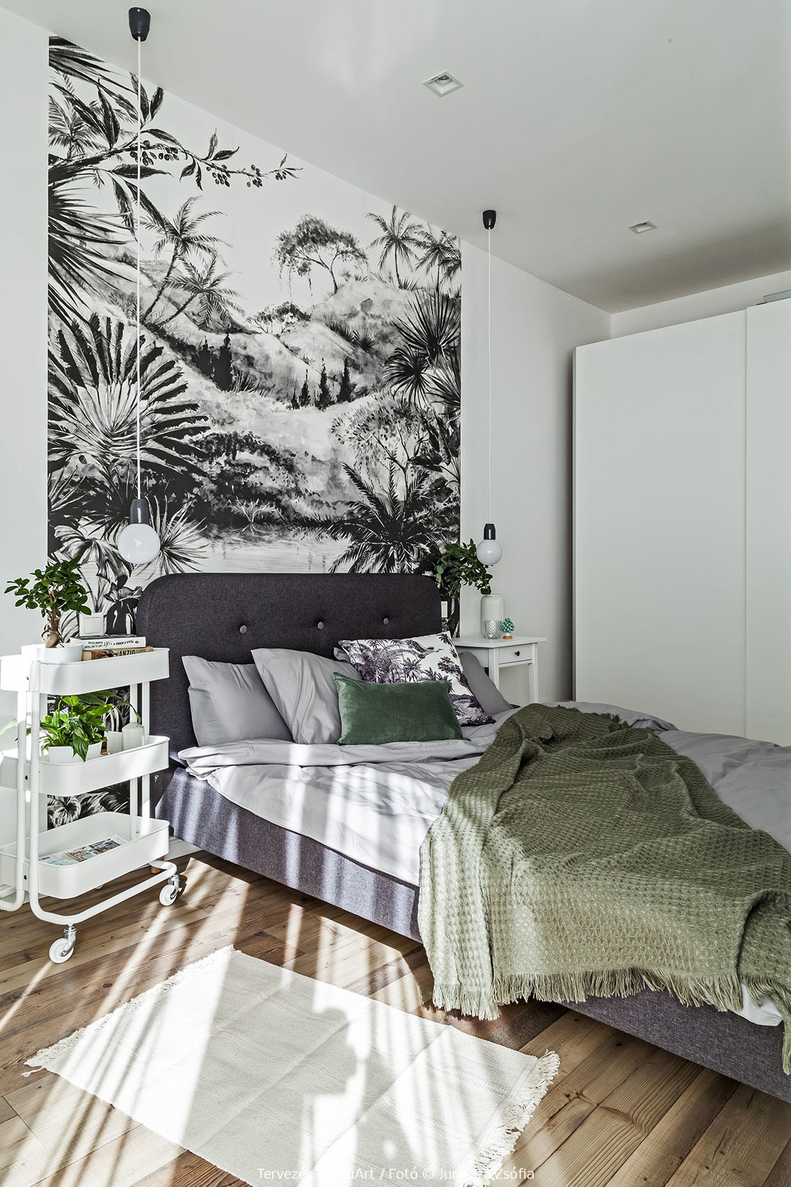 A dzsungel stílus otthonunkban