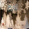 Karácsonyi dekoráció üzleteknek