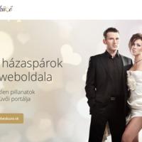 Lakodalomvarázs: a WebEsküvő.sk, a páratlan párosok exkluzív, egyedi weboldala is jön a kiállításra