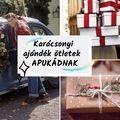 Karácsonyi ajándékötletek APUDNAK