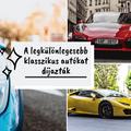 Íme a Concours d'Elegance legkülönlegesebb autói!