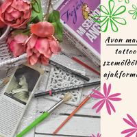 Avon mark. tattoo szemöldök és ajakformázó / TESZT