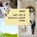2019 TOP 10 Daalarna esküvői ruha