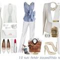 10 tuti fehér összeállítás tavaszra