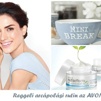 Reggeli arcápolási rutin az AVON-tól