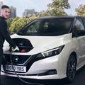 Eden Hazard csatlakozik a Nissan #ElectrifyTheWorld mozgalmához