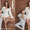 Gyermekeivel állt modellt Alessandra Ambrosio