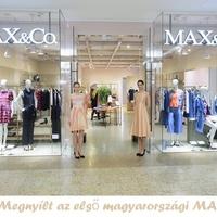 Megnyílt az első magyarországi MAX&Co.