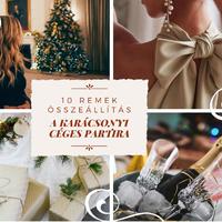 10 remek összeállítás a karácsonyi céges partira