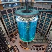 Különleges szállodák: halak közt