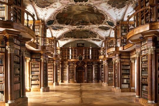 Top 10: legszebb könyvtárak