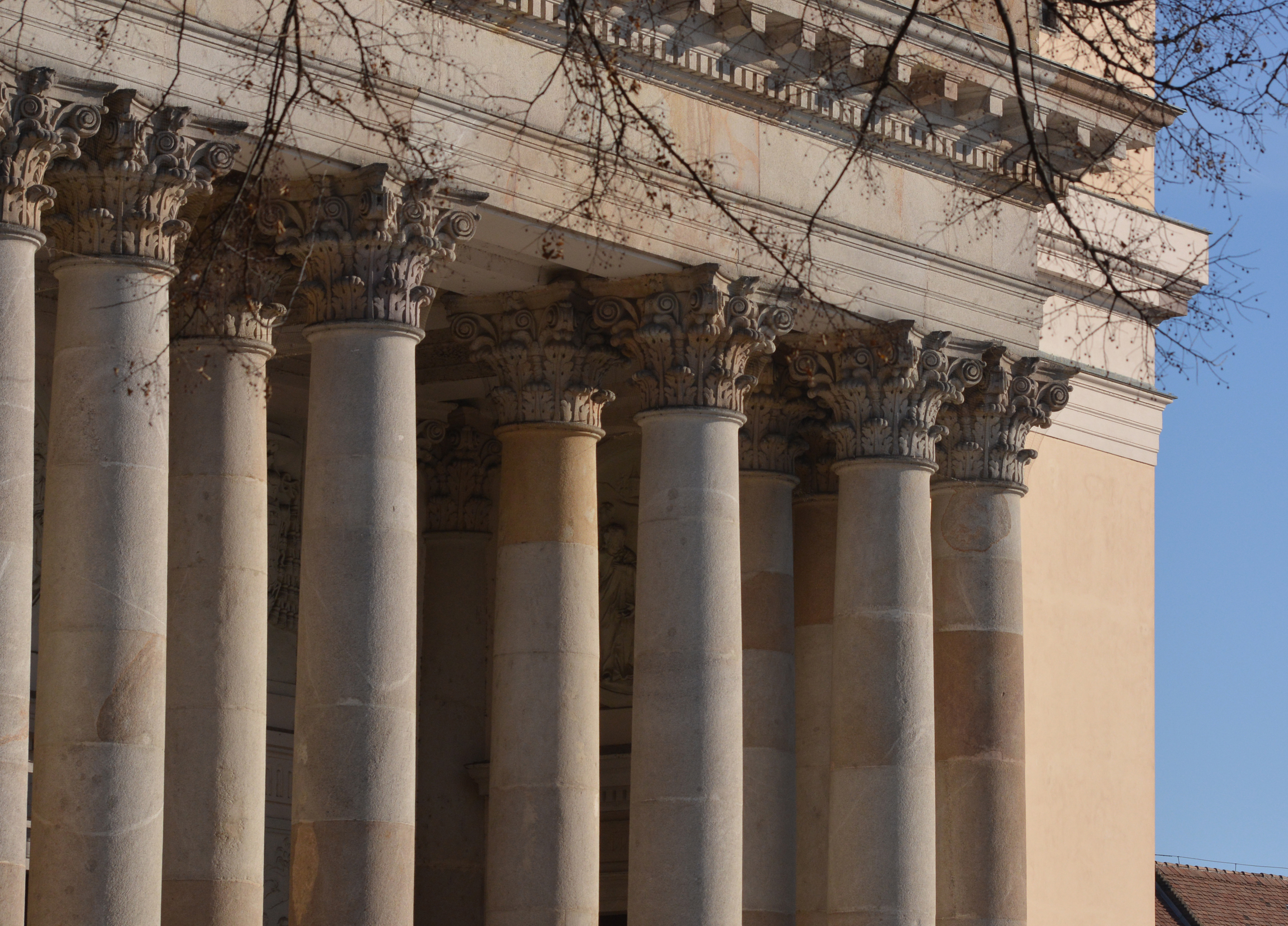 Korinthoszi oszlopfők