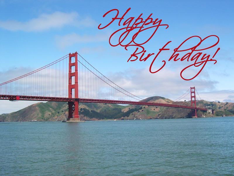 Boldog születésnapot Golden Gate!
