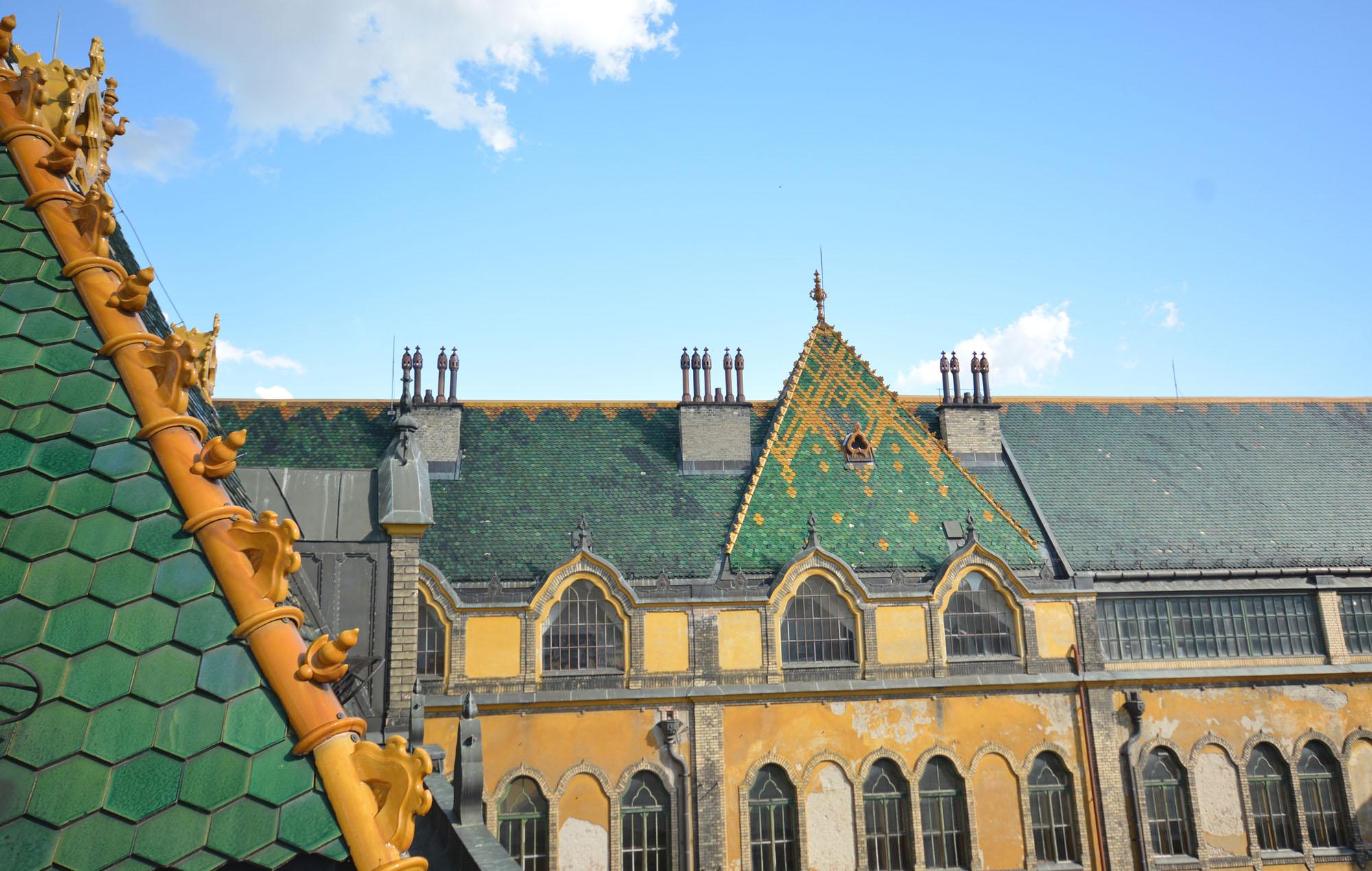 Iparművészeti Múzeum - a pincétől a tetőig