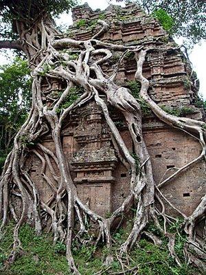 Kambodzsa: templomok Angkor előttről