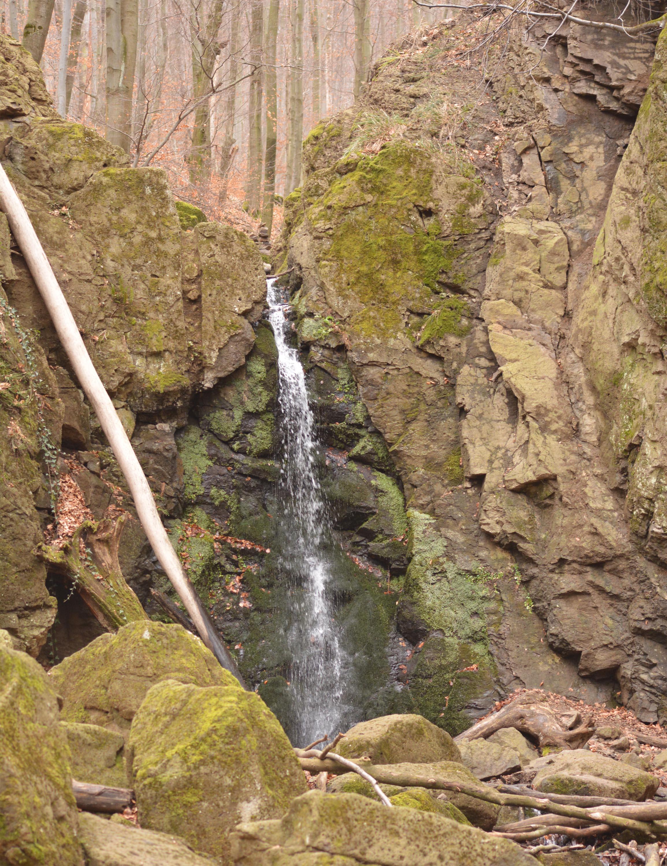 Az út végén: Ilona-vízesés