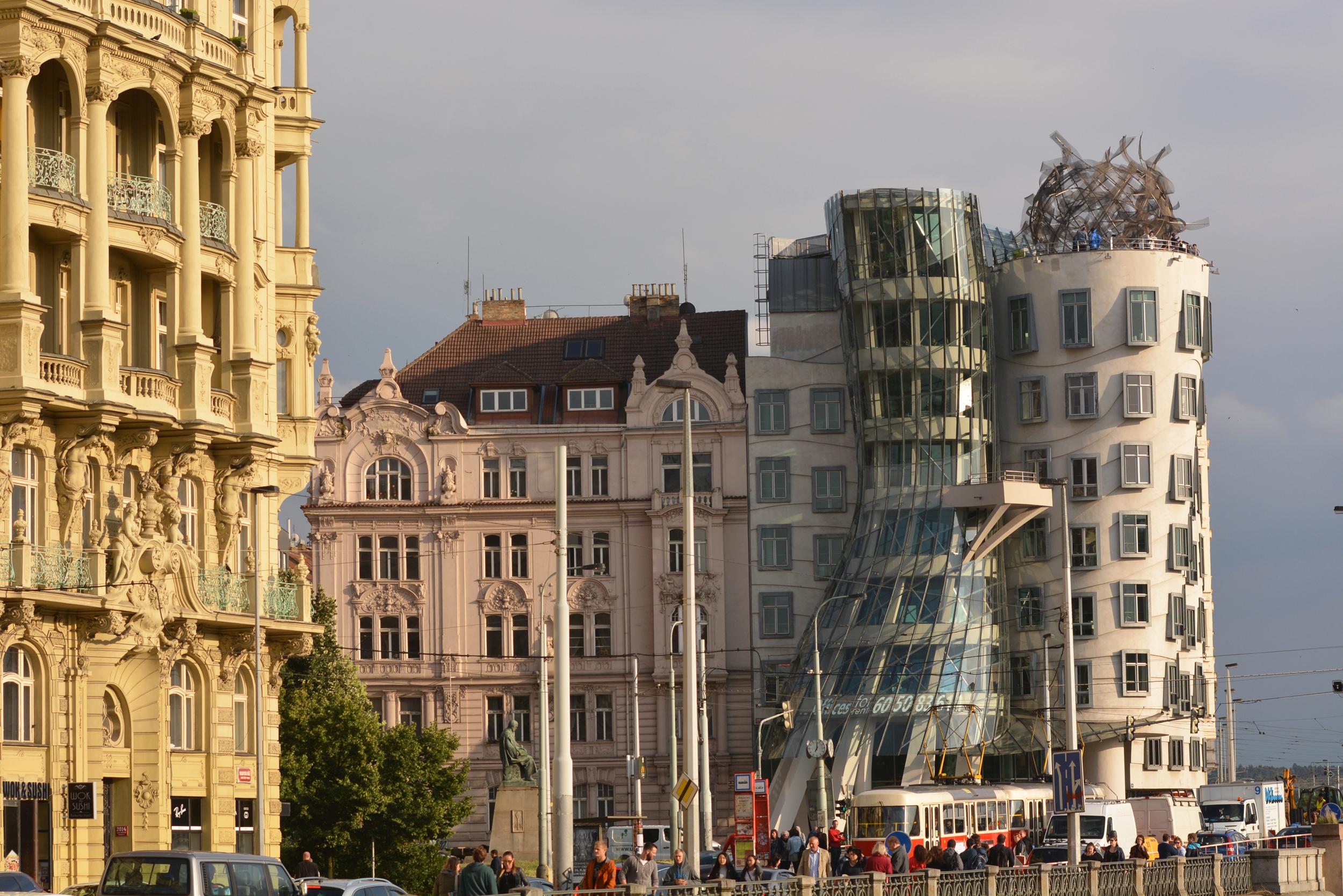 Táncoló házak Prágában