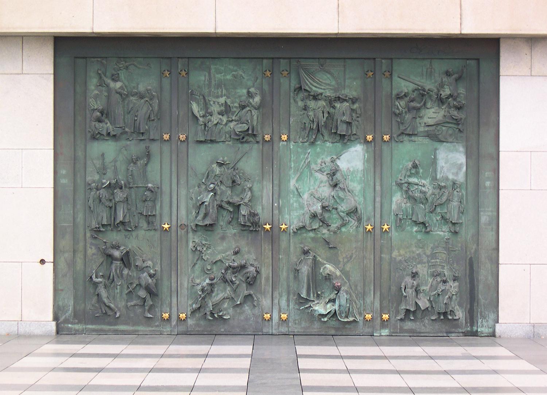 még felújítás előtt 2005-ben így nézett ki a Nemzeti Emlékhely