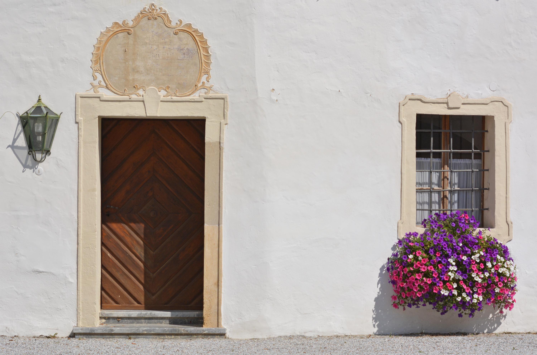 a kastély belső udvara