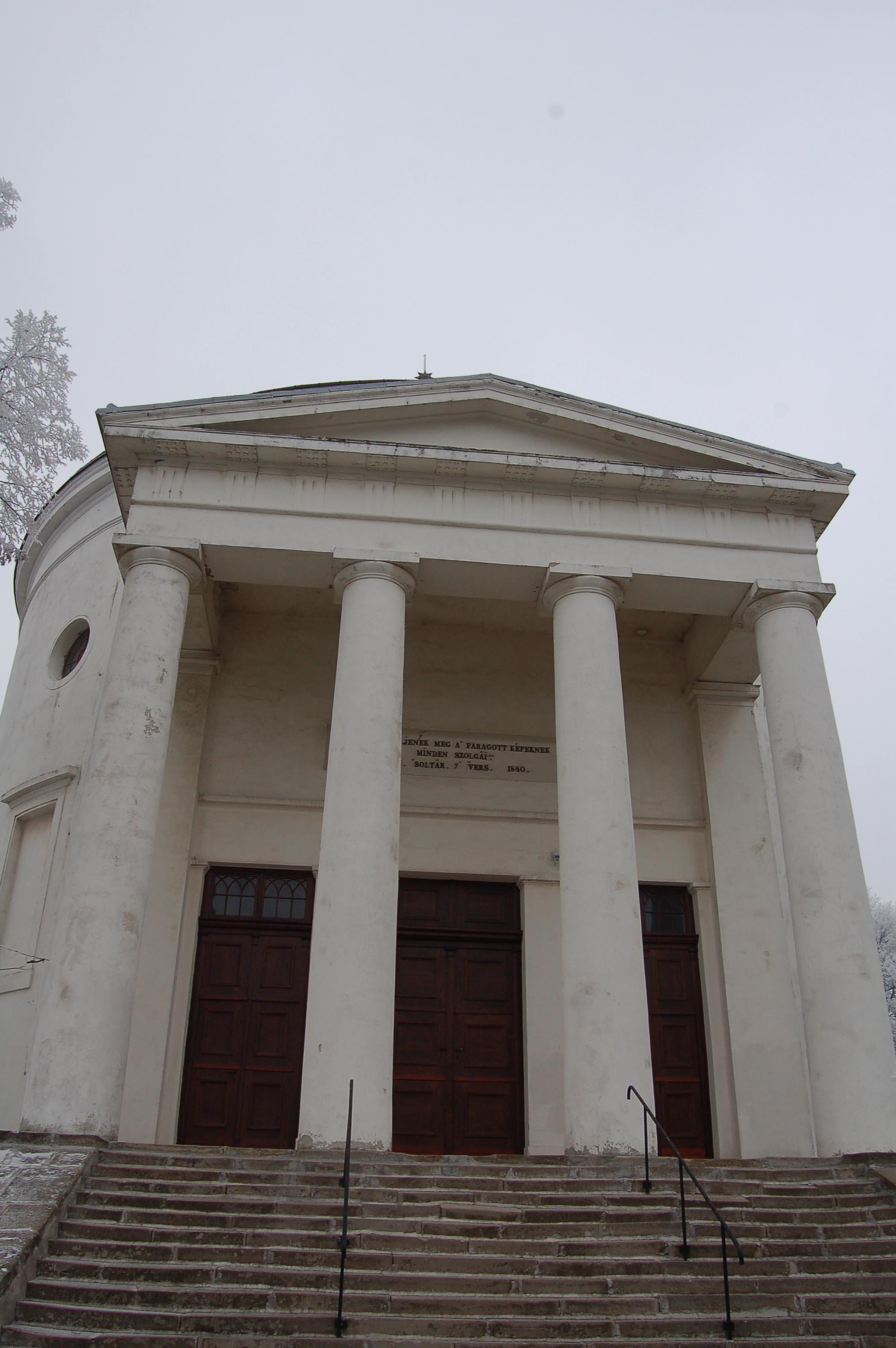 Szilvásvárad kerek temploma