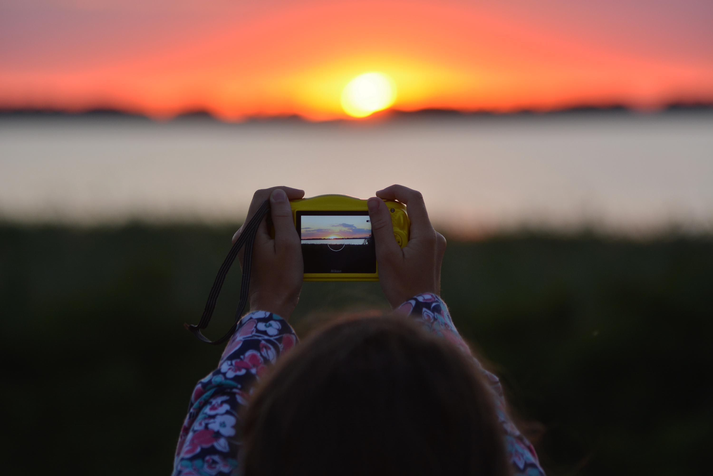 abádszalóki naplemente (meg a fotós utánpótlás)