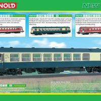 Vasutmodell-újdonságok 2012 - Arnold