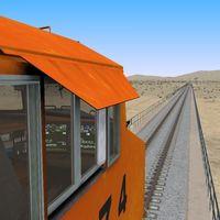 Run 8 Train Simulator bemutató