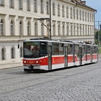 Prágai villamosok