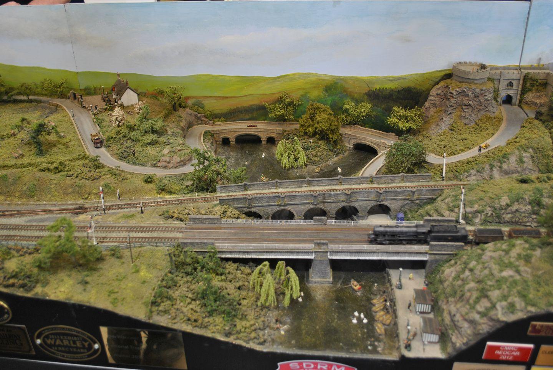 North of England Line: csöppenjünk vissza a gőzöskorszakba! Három híd egy képen, ráadásul ebből kettő a vonatoké.