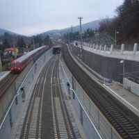 Bécs alatt a Lainzer Tunnel-ben