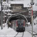 Az Arlberg alatt az Arlberg-alagúton át