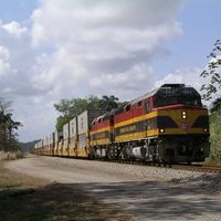Panama vasútja