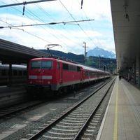Vonattal Németországban