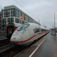 Az új DB ICE3 Münchenben