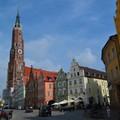 Landshut és a Burg Trausnitz