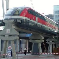 Mágnesvasúttal a reptérre - A Transrapid München