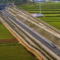 Megkezdődtek a tesztek a Jincsuan-Hszian nagysebességű vasútvonalon Kínában