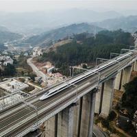 Elkészült a Csungking-Kujjang közötti nagysebességű vasútvonal
