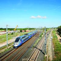 Az első tehervonat a Nimes-Montpellier-vasútvonalon