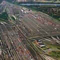 Európa legnagyobb teherpályaudvara: a Maschen Rangierbahnhof