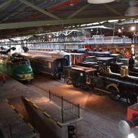 Vasúti múzeum Utrechtben