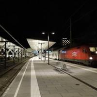 Ismét Salzburg Hauptbahnof