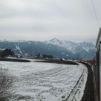 Innsbruckba utazás a tavaszi hóban