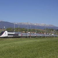 TGV-vel Svájcba