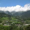 Az Arlbergbahnon Ausztriában